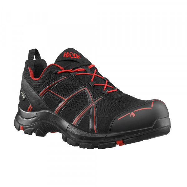 HAIX Black Eagle Safety 40.1 low/black-red