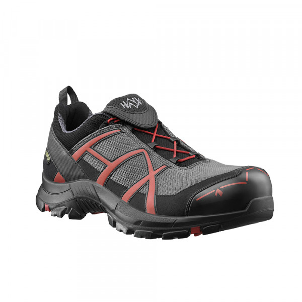 HAIX Black Eagle Safety 40 Low grey/red