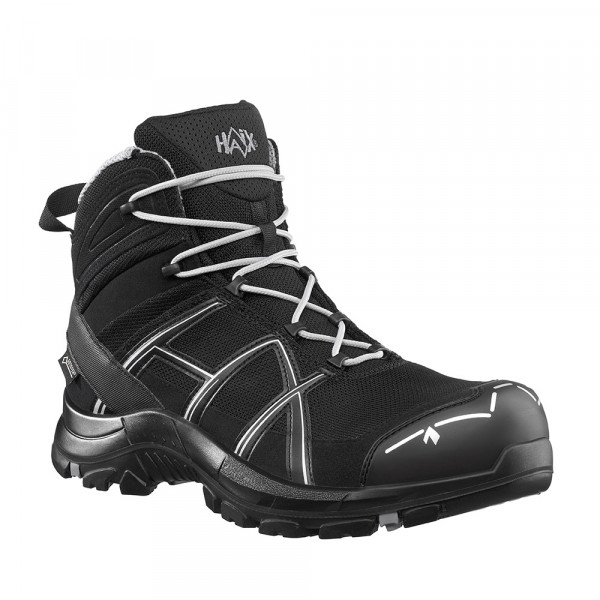 HAIX Black Eagle Safety 40.1 mid/black-silver