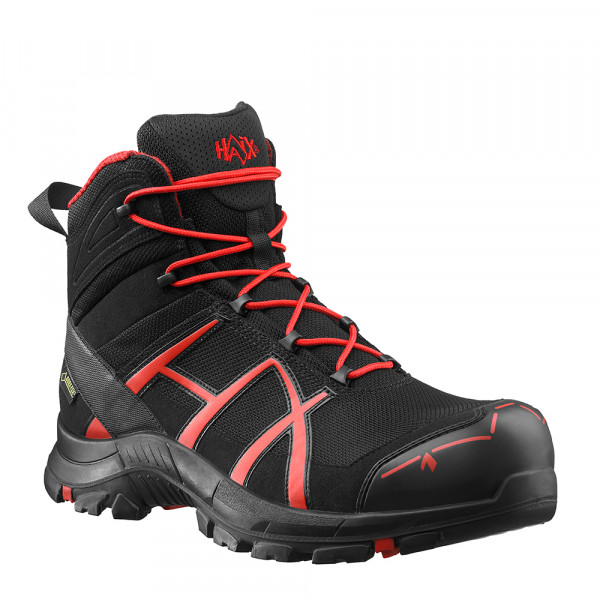 HAIX Black Eagle Safety 40 Mid black/red