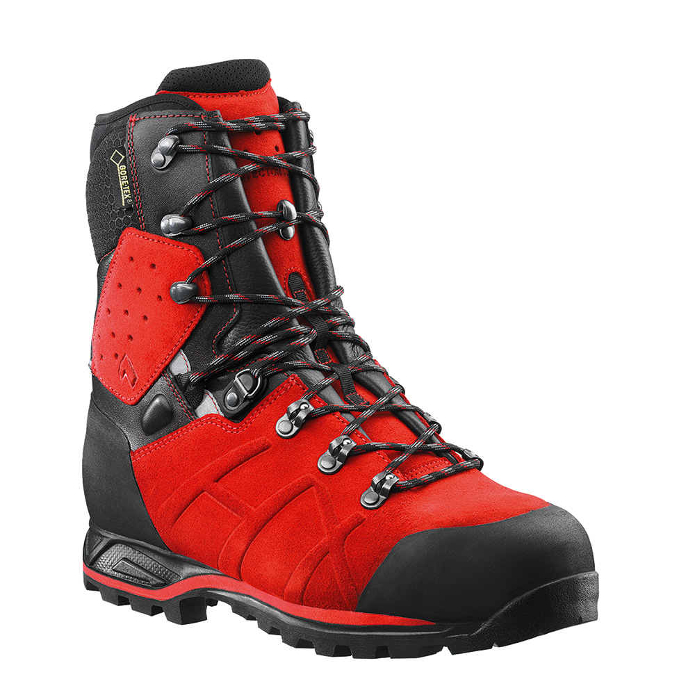 Haix Protector Ultra Signal Red Forestry Safety Footwear
