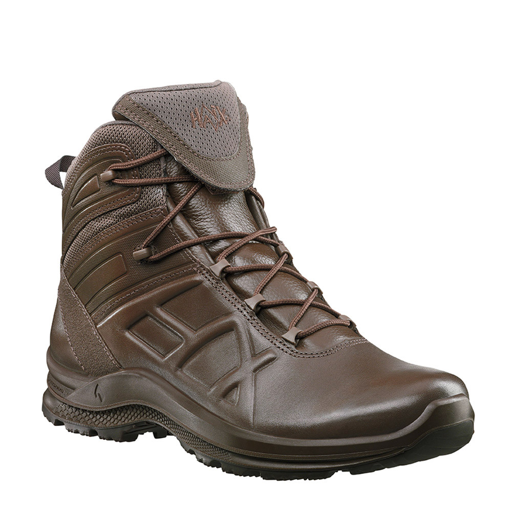 Haix Black Eagle Tactical 2 0 T Mid Brown Leather