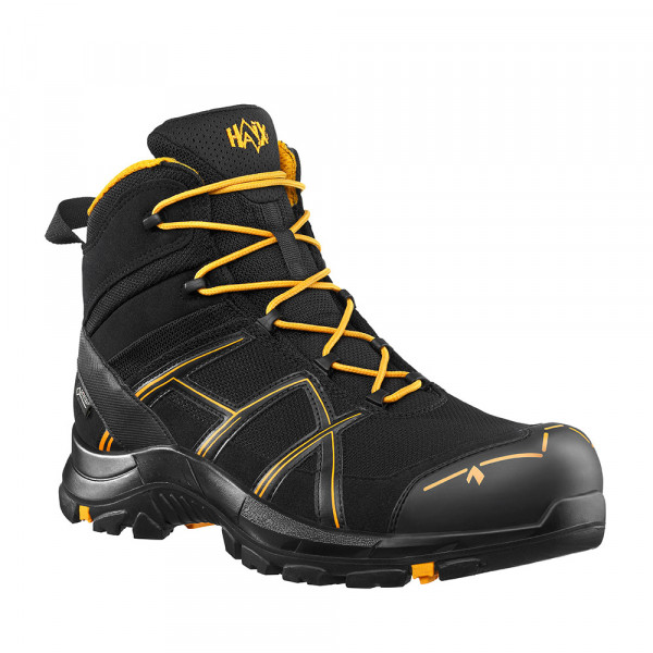HAIX Black Eagle Safety 40.1 Mid black/orange